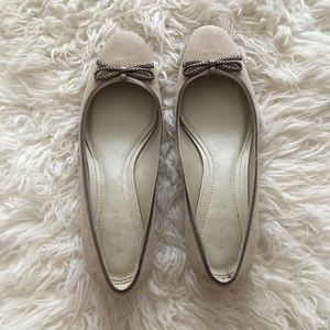 Ann Taylor 1/2 inch suade finish shoes